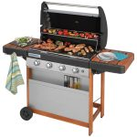 planches tablettes barbecue gaz